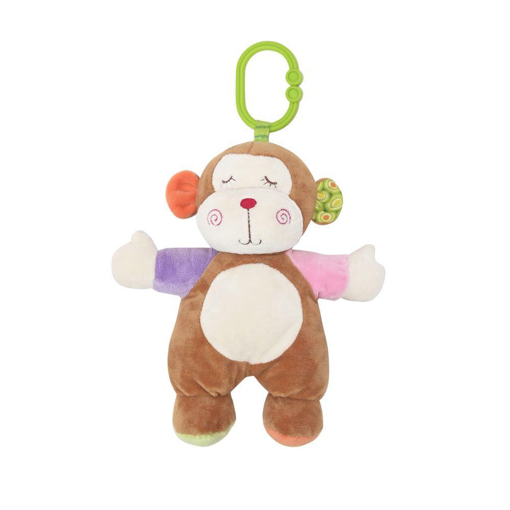 Jucarie din plus pentru bebelusi Lorelli Monkey imagine hippoland.ro