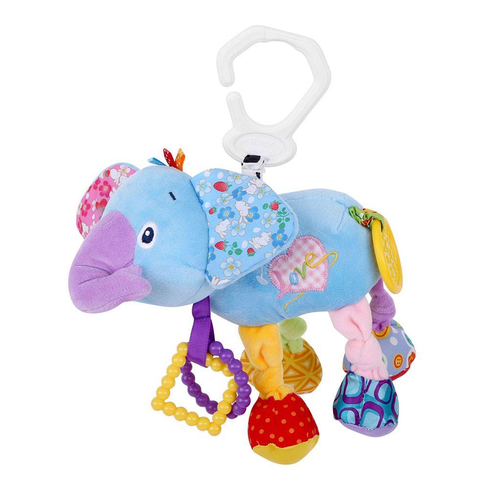 Jucarie pentru bebelusi cu vibratii Lorelli Elephant imagine hippoland.ro