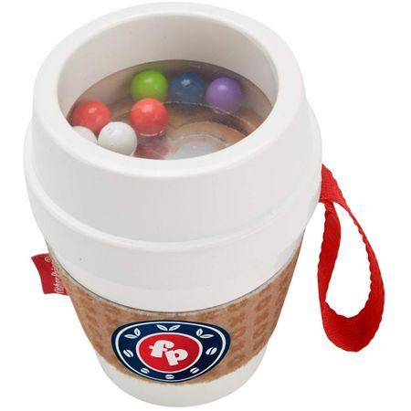 Jucarie pentru dentitie Fisher Price Coffee Cup imagine hippoland.ro