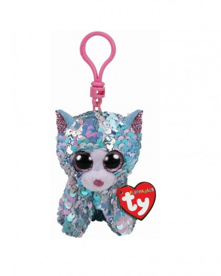 Jucarie TY Beanie Boos Flippables Whimsy sequin blue cat imagine hippoland.ro
