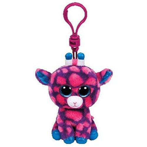 Jucarie TY Beanie Boos Sky High pink giraffe mic imagine hippoland.ro
