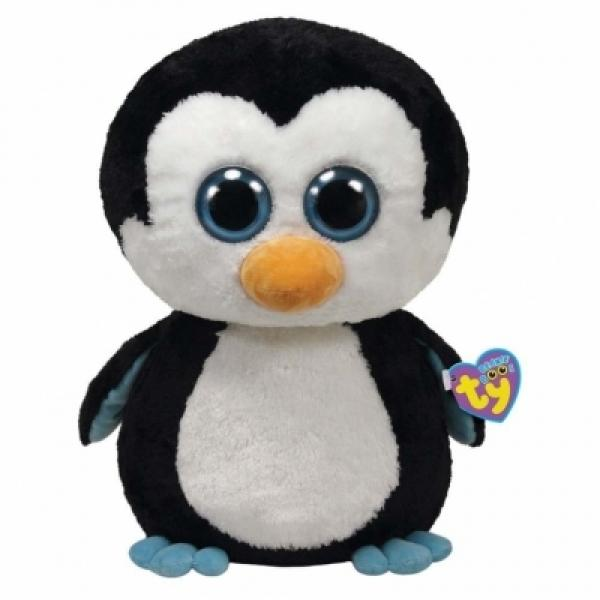 Jucarie TY Beanie Boos Waddles penguin imagine hippoland.ro