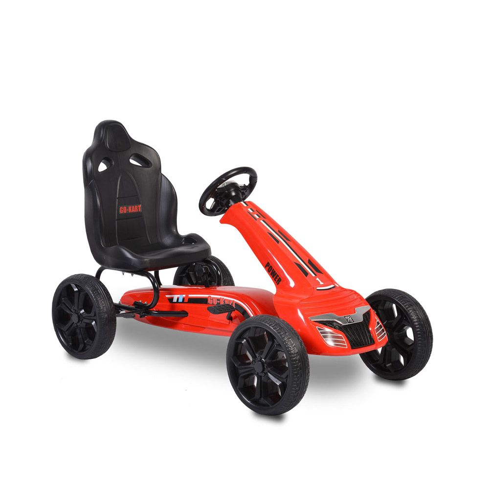 Kart cu pedale Moni Olympus Red imagine hippoland.ro