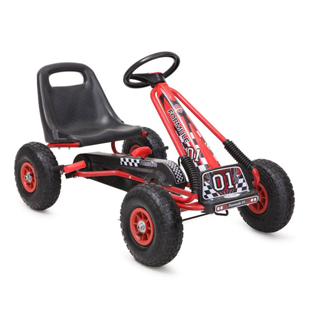 Kart Moni Top Racer Air red
