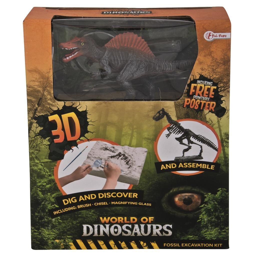 Kit Paleontologie TToys Lumea Dinozaurilor imagine hippoland.ro