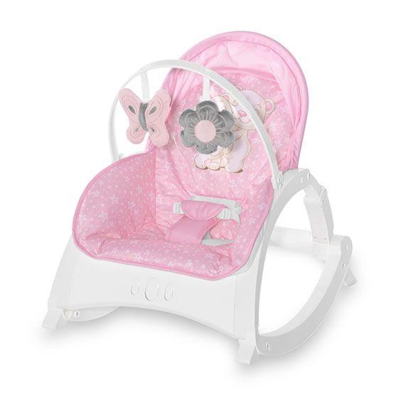 Leagan cu vibratii Lorelli Enjoy Za Za 2021 Pink Hug imagine hippoland.ro