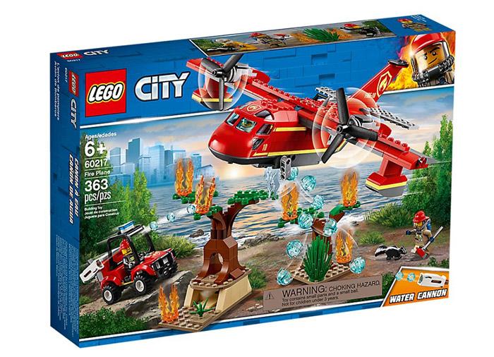 Lego City Avionul pompierilor 60217 imagine hippoland.ro