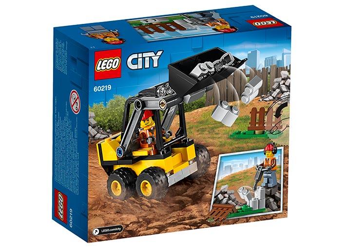 Lego City Incarcator pentru constructii 60219 imagine hippoland.ro