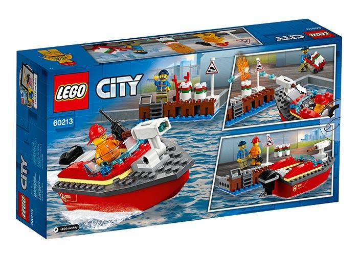 Lego City Incendiul de la docuri 60213 imagine hippoland.ro