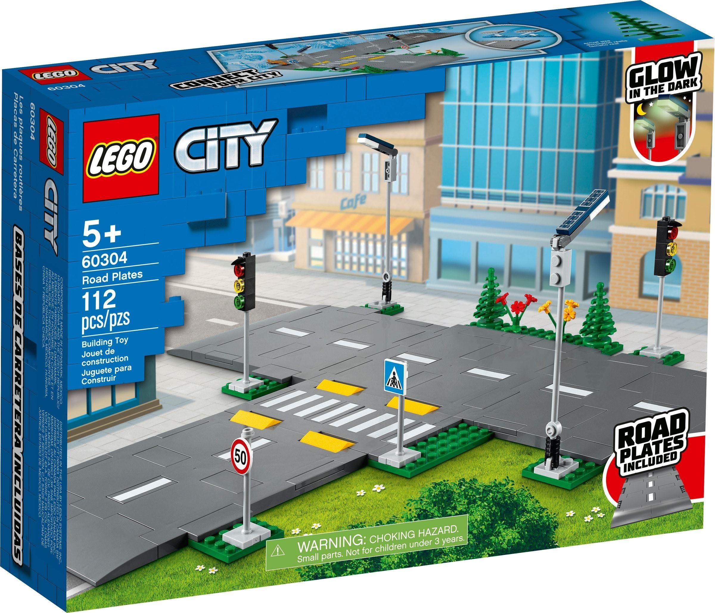 Lego City Placi de sosea 60304