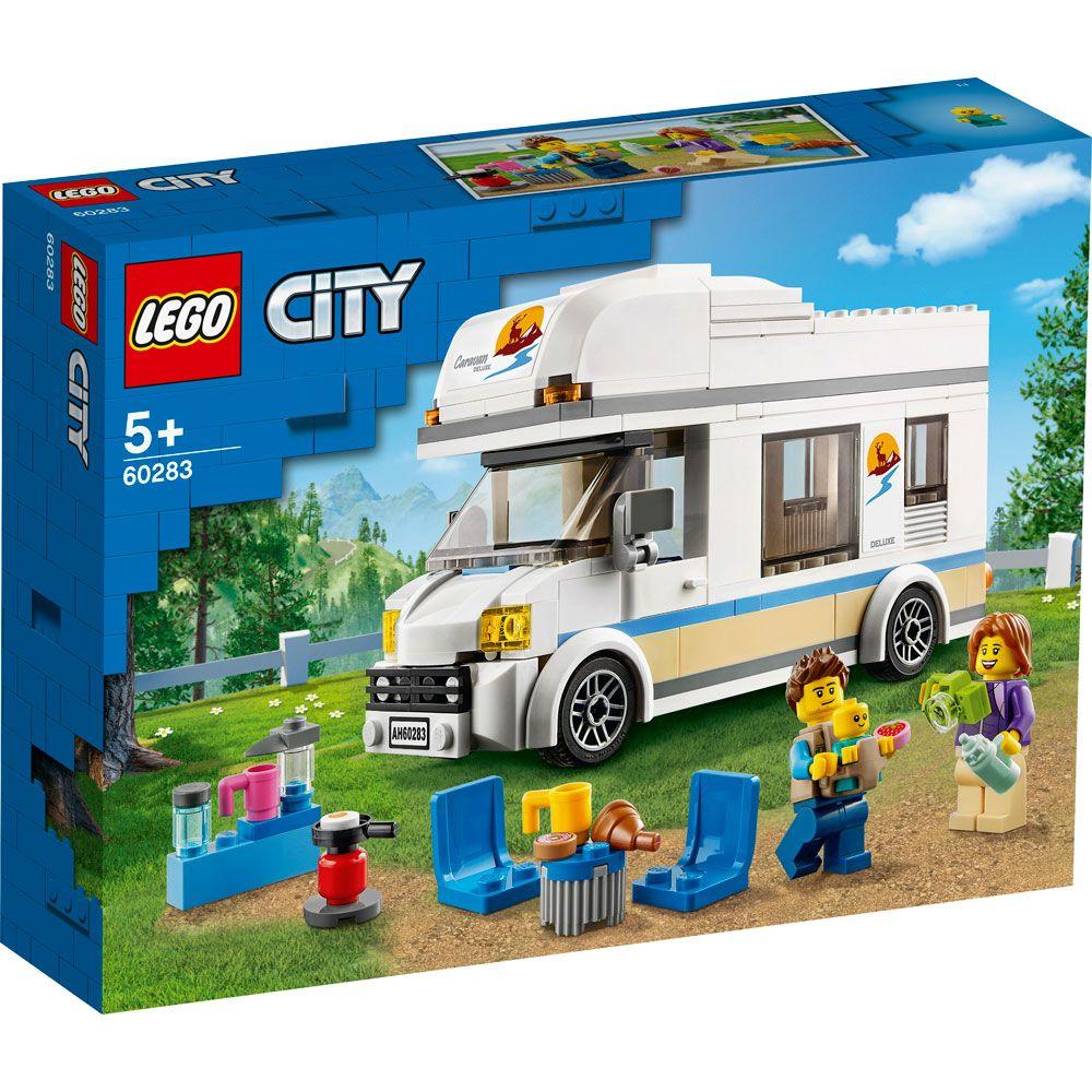 Lego City Rulota de vacanta 60283 imagine hippoland.ro