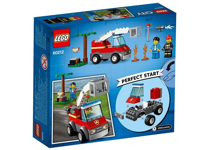Lego City Stingerea incendiului de la gratar 60212 imagine hippoland.ro