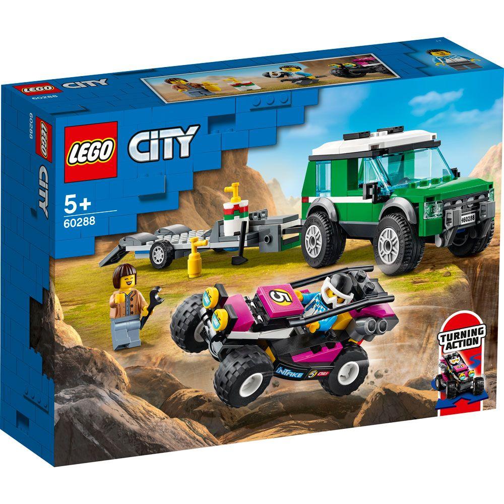 Lego City Transportator de Buggy 60288 imagine hippoland.ro