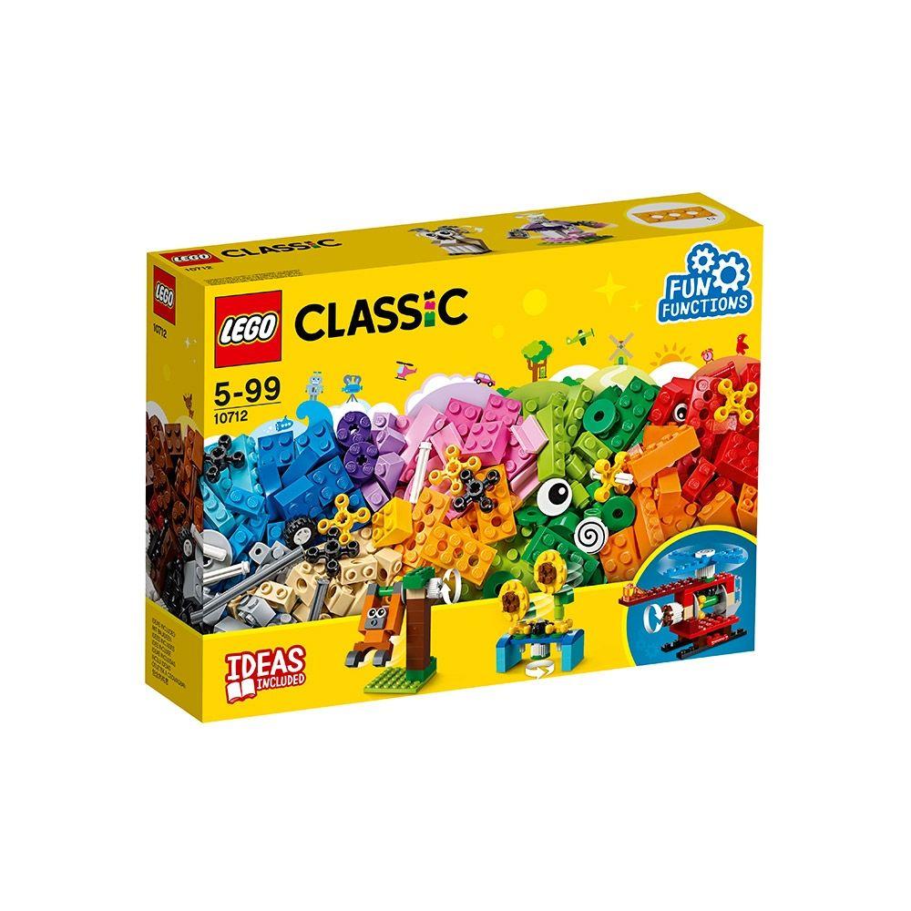Lego Clasic Caramizi si roti variate 10712 imagine hippoland.ro