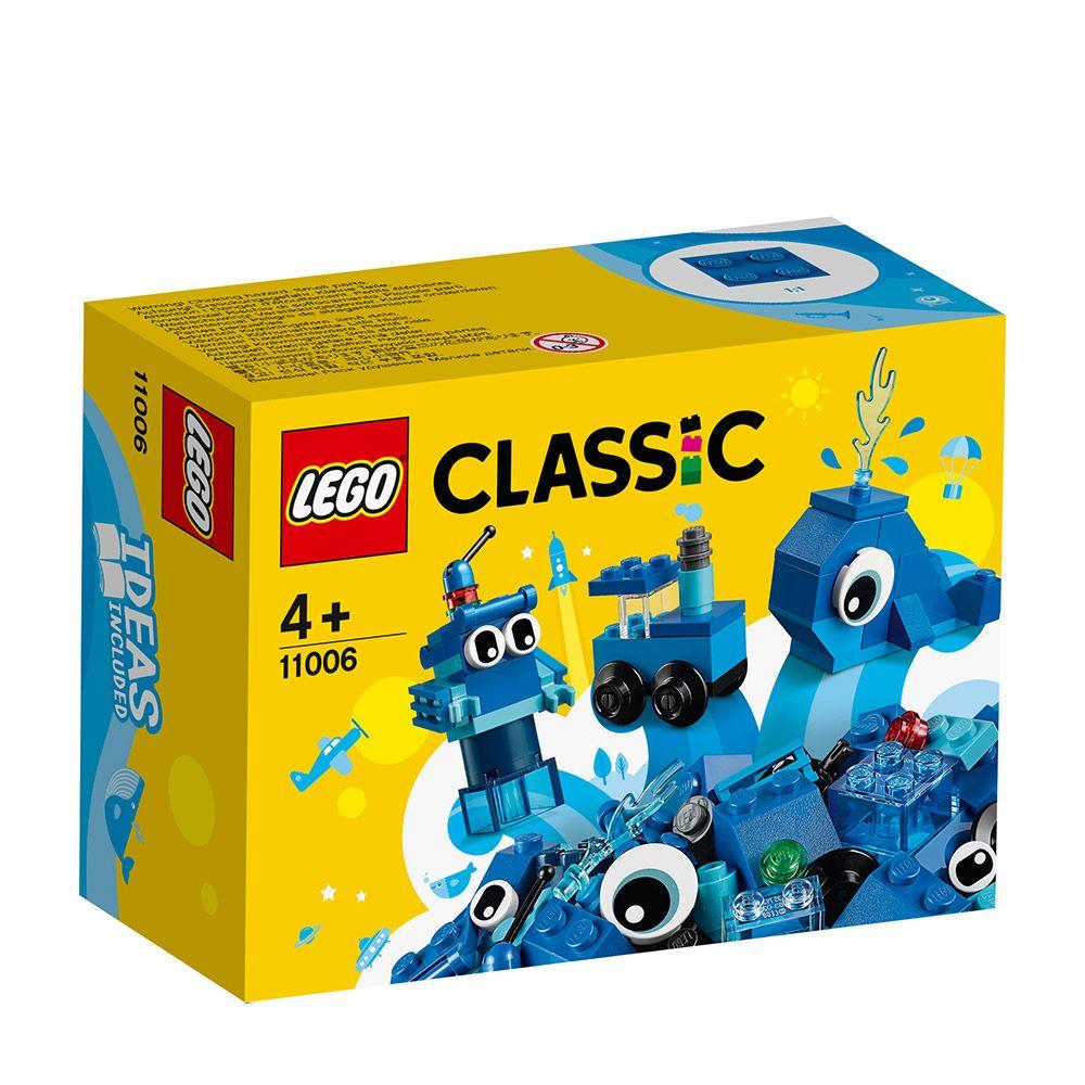 Lego Classic Caramizi creative albastre 11006 imagine hippoland.ro