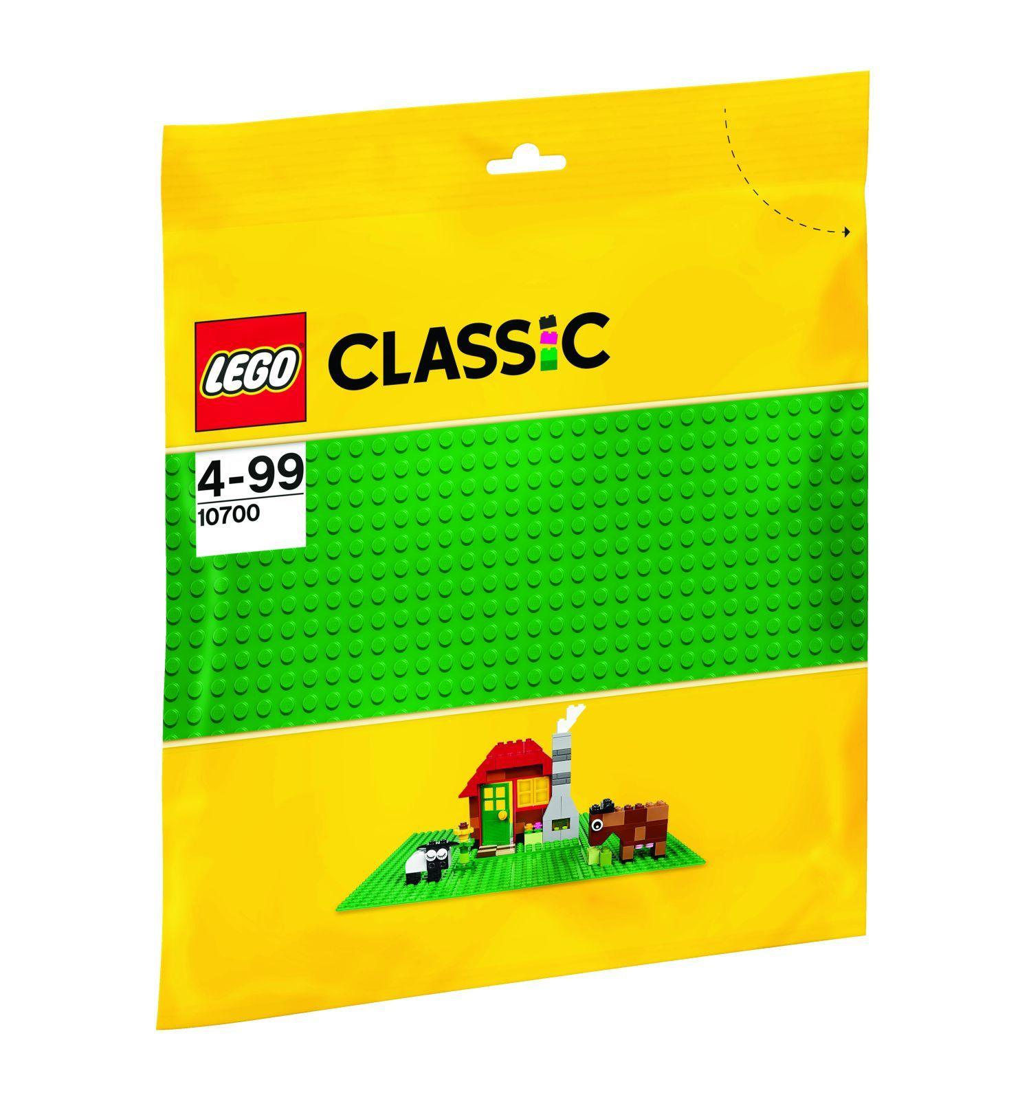 LEGO Classic Placa de baza verde 10700 imagine hippoland.ro