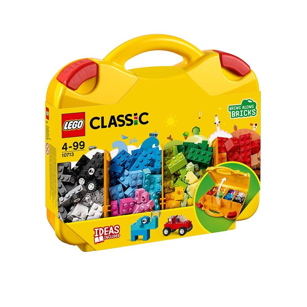 LEGO CLASSIC Valiza creativa 10713 imagine hippoland.ro