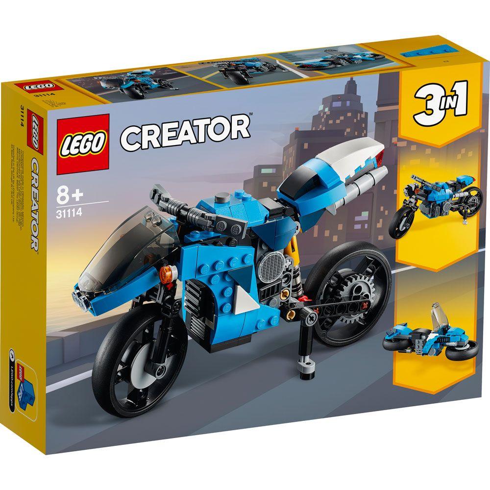 Lego Creator Super Motocicleta 31114 imagine hippoland.ro