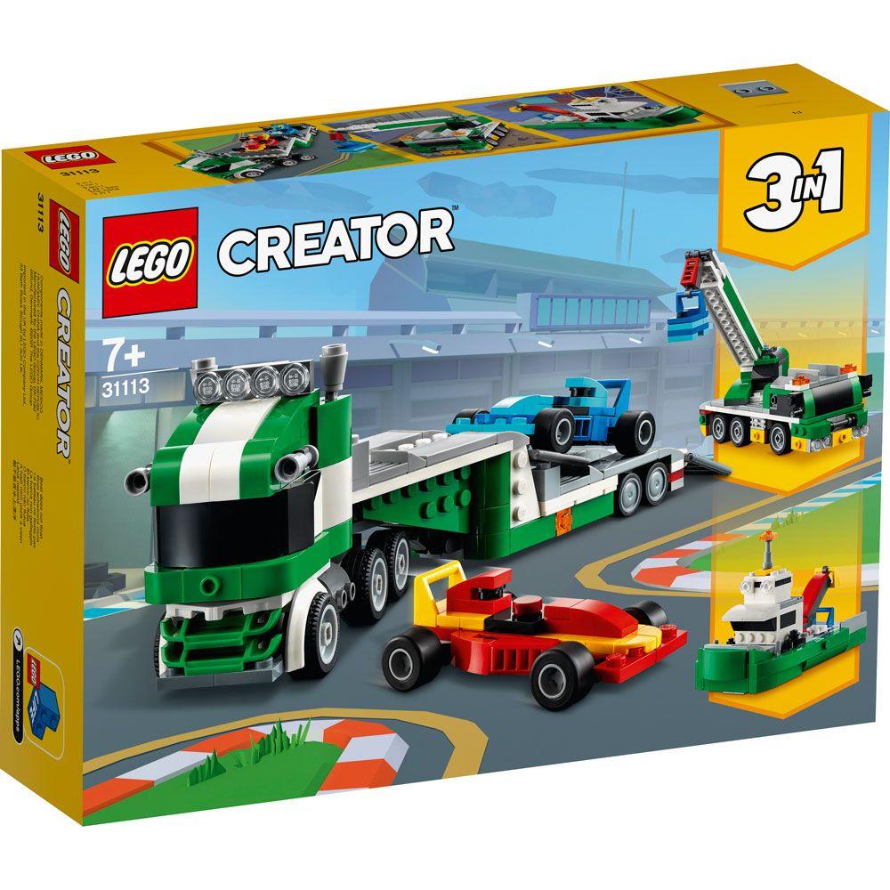 Lego Creator Transportator de masini de curse 31113