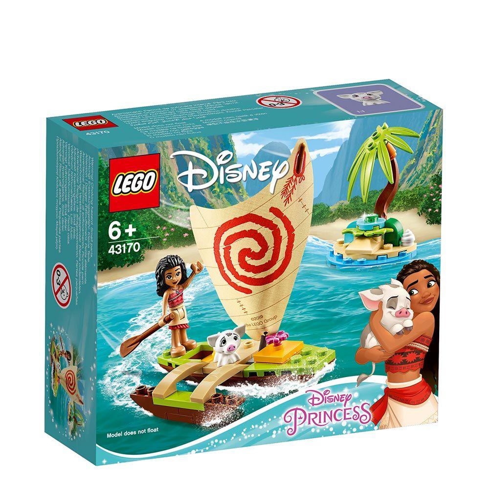 Lego Disney Princess Aventura pe Ocean a Moanei 43170 imagine hippoland.ro