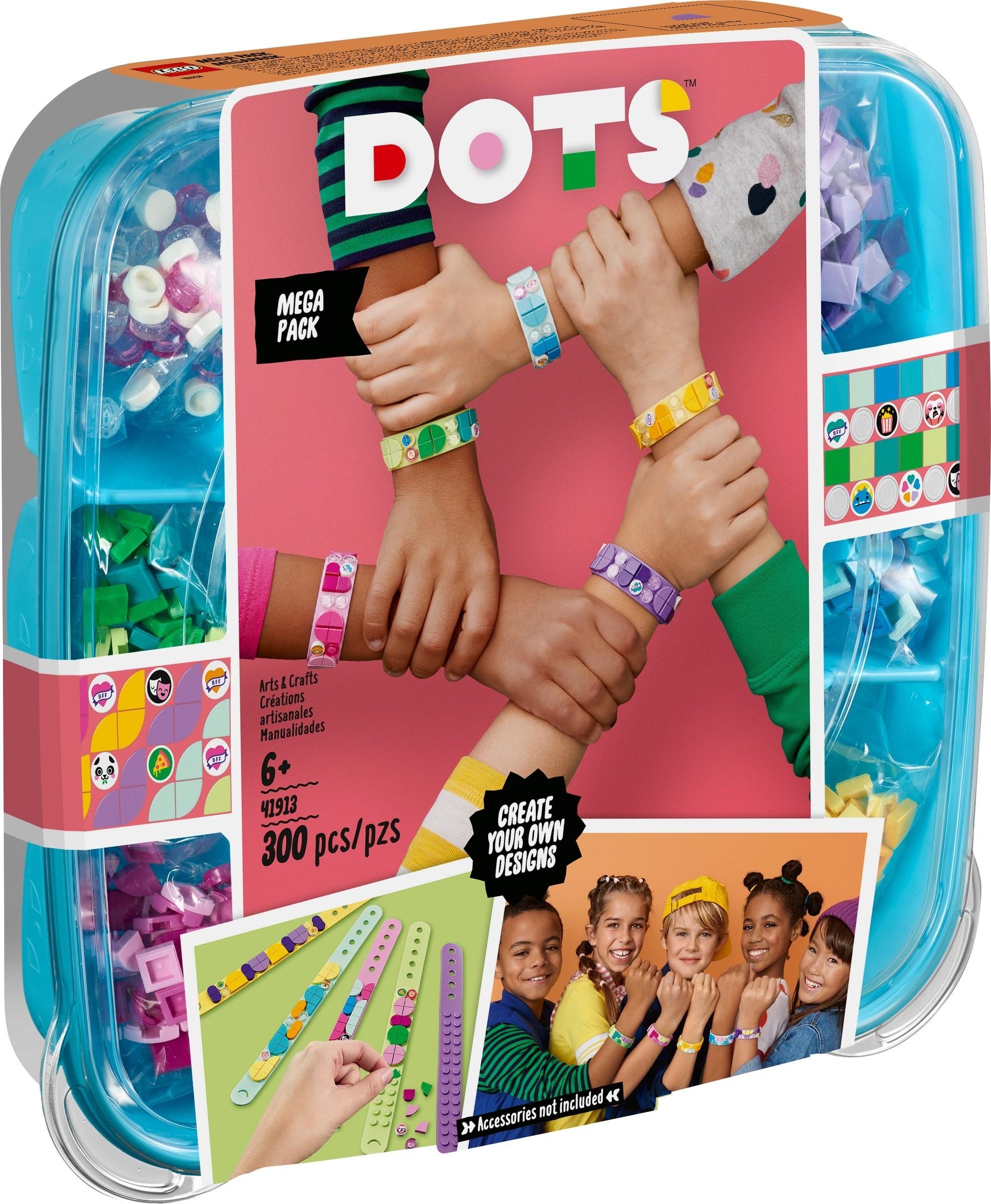 Lego Dots Pachet 5 bratari BFF 41913 imagine hippoland.ro