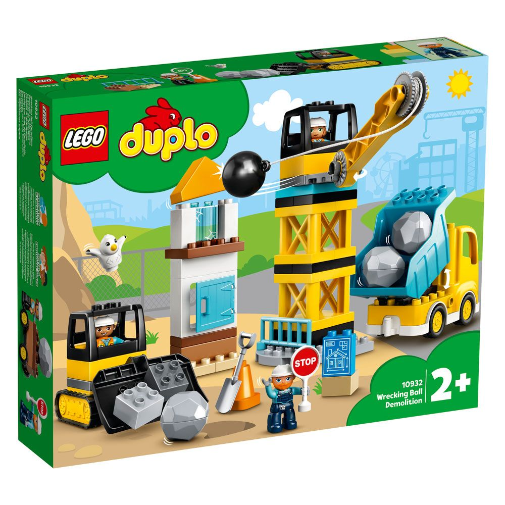 Lego Duplo Bila de demolare 10932 imagine hippoland.ro