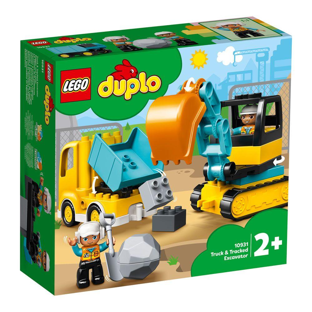 Lego Duplo Camion si excavator pe senile 10931 imagine hippoland.ro