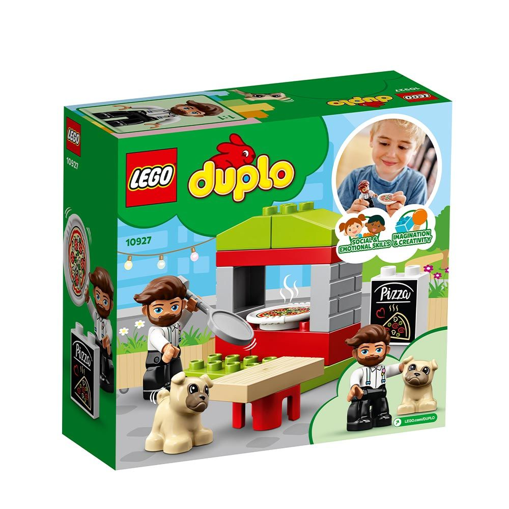 Lego Duplo Stand cu Pizza 10927 imagine hippoland.ro