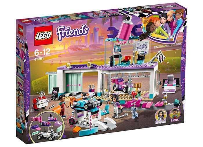 Lego Friends Atelier creativ de tuning 41351 imagine hippoland.ro