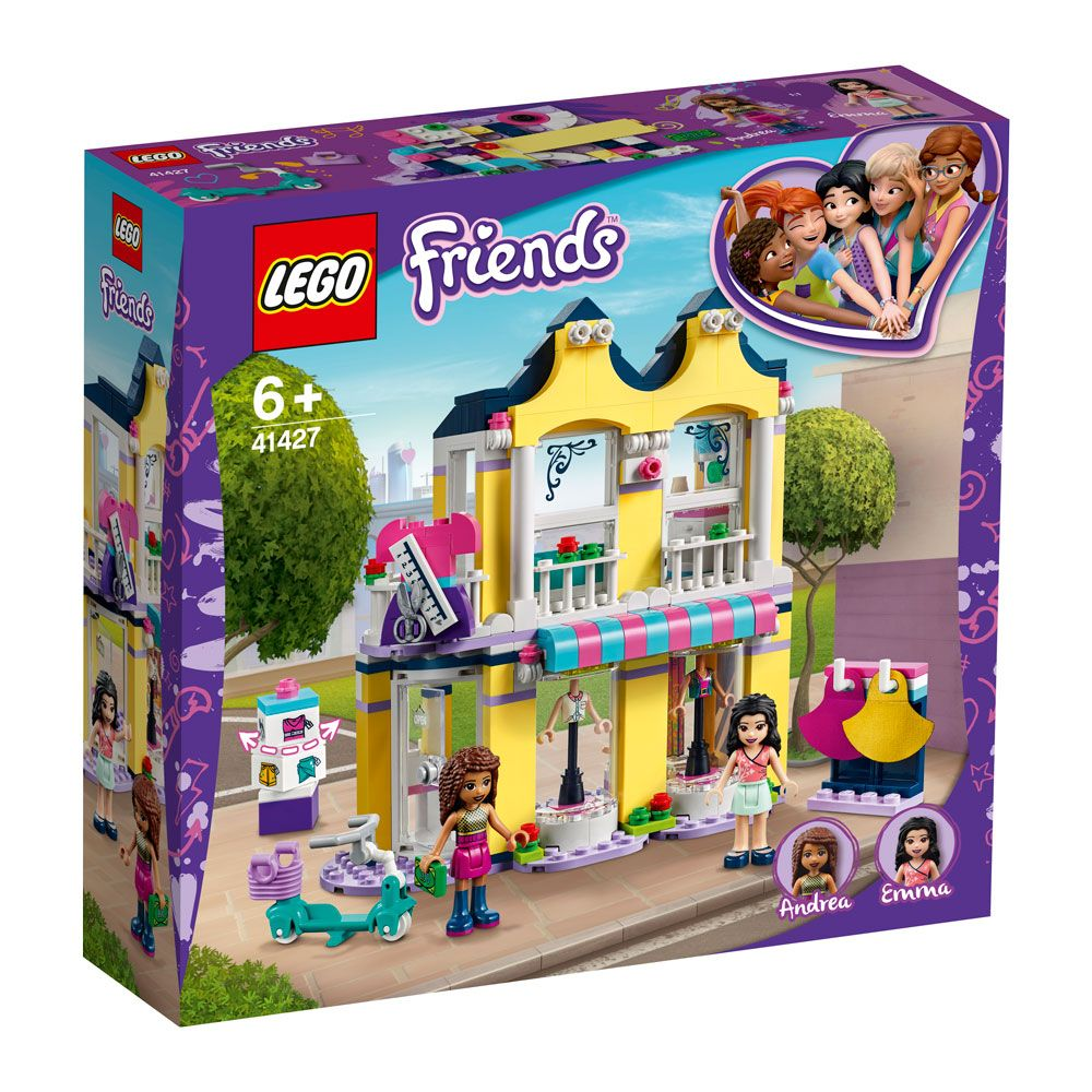 Lego Friends Casa de moda a Emmei 41427 imagine hippoland.ro
