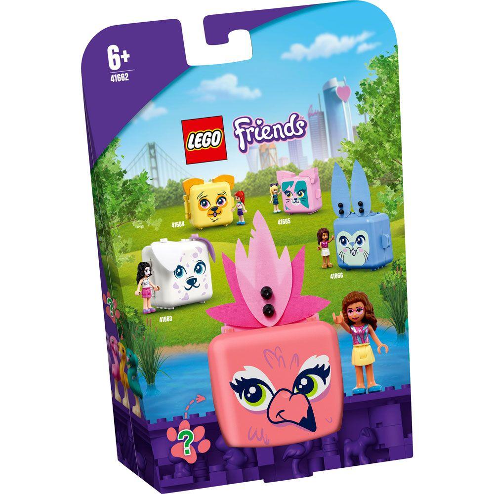 Lego Friends Cubul cu flamingo al Oliviei 41662 imagine hippoland.ro