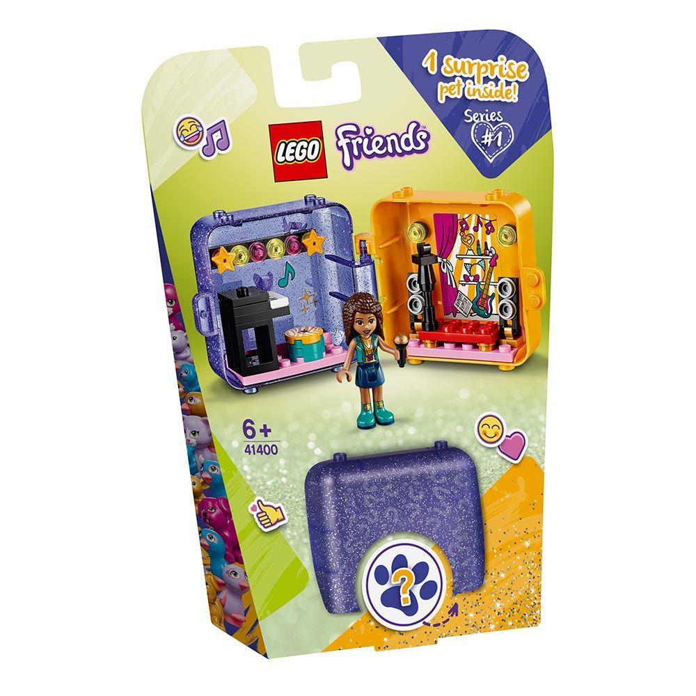 Lego Friends Cubul de Joaca al Andreei 41400 imagine hippoland.ro