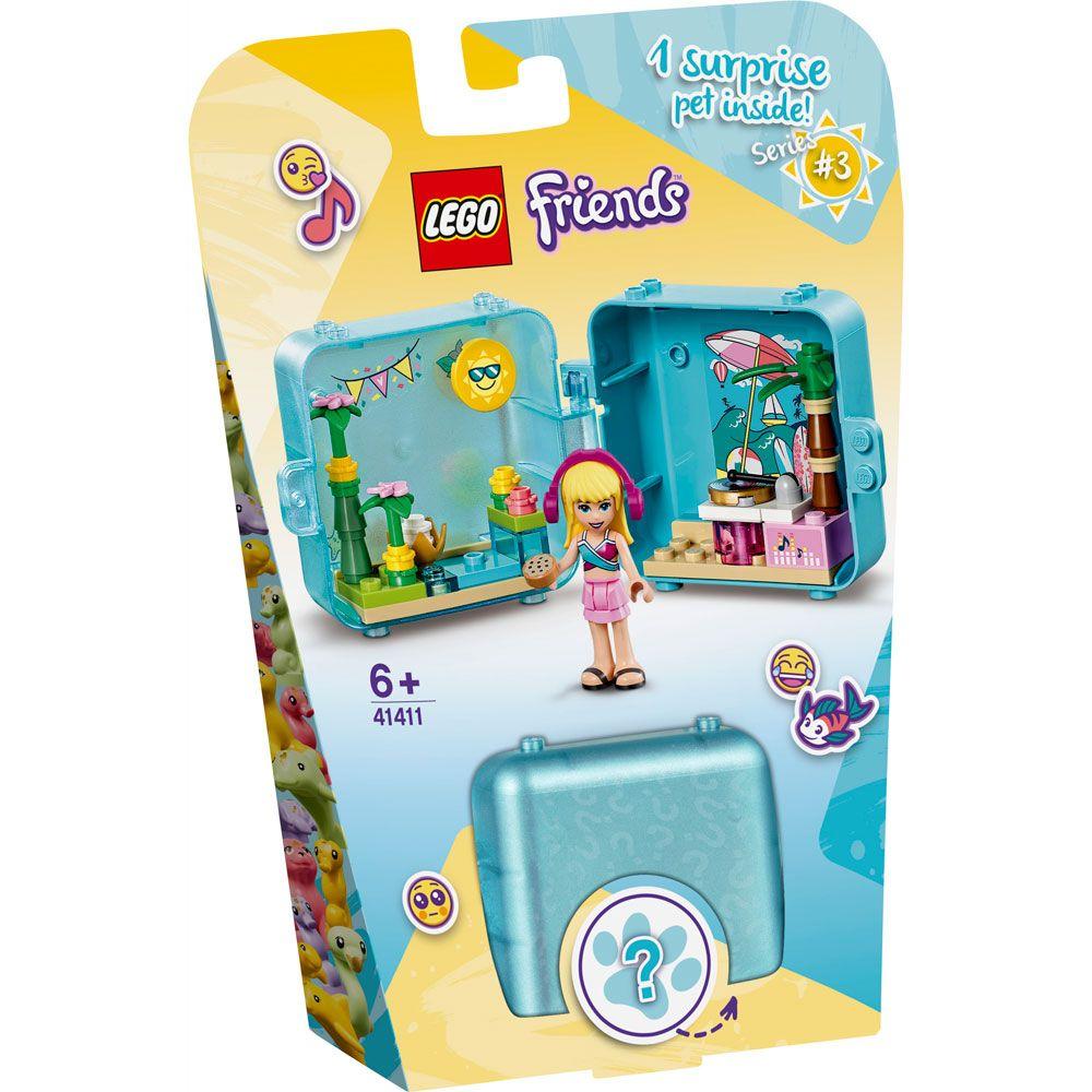 Lego Friends Cubul jucaus de vara al Stephaniei 41411 imagine hippoland.ro