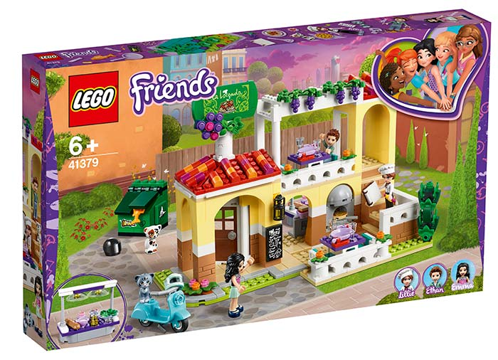 Lego Friends Restaurantul din Orasul Heartlake 41379 imagine hippoland.ro