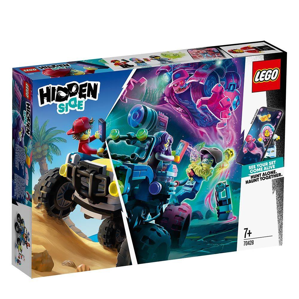 Lego Hidden Side Masina de Plaja a lui Jack 70428 imagine hippoland.ro