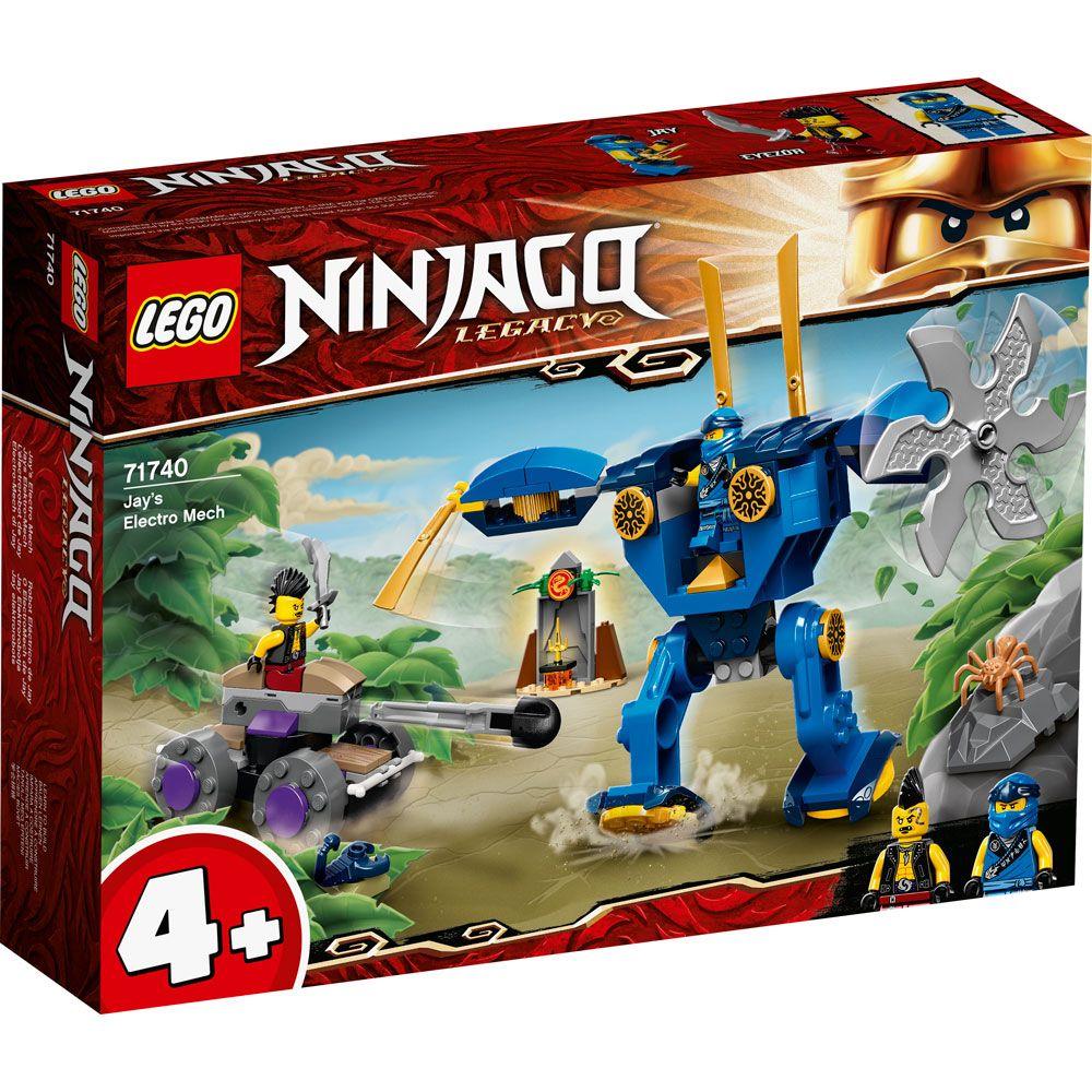 Lego Ninjago Electrobotul lui Jay 71740 imagine hippoland.ro