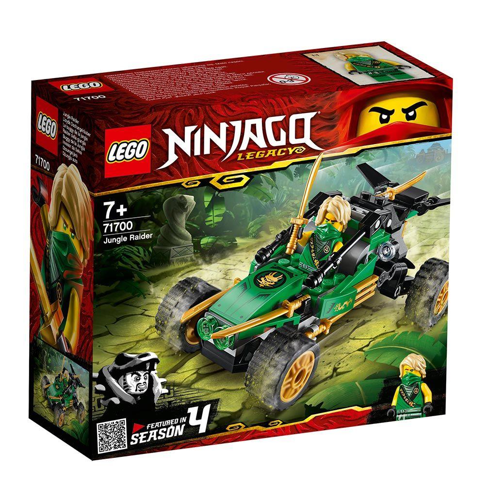 Lego Ninjago Jungle Raider 71700 imagine hippoland.ro