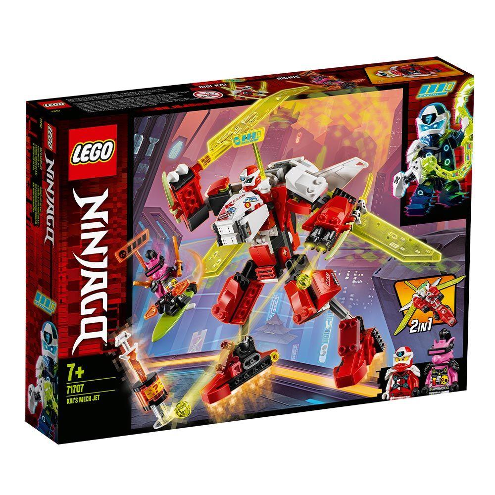 Lego Ninjago Robotul Avion cu Reactie al lui Kai 71707 imagine hippoland.ro
