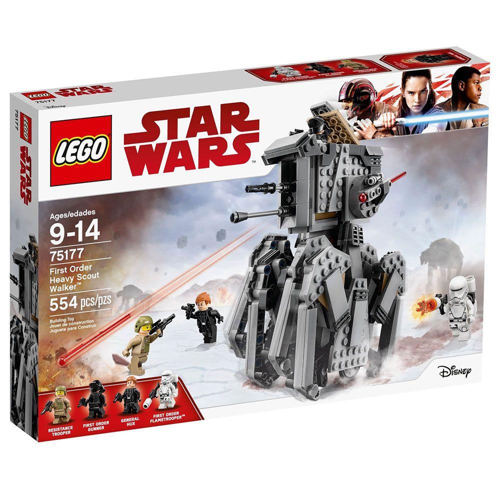 Lego Star Wars Heavy Scout Walker al Ordinului intai 75177 imagine hippoland.ro