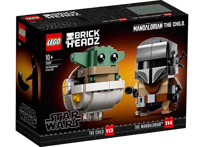 Lego Star Wars Mandolorianului si Baby Yoda 75317 imagine hippoland.ro