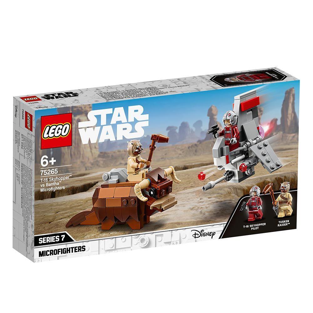 Lego Star Wars Microfighter Skyhopper vs Bantha 75265 imagine hippoland.ro
