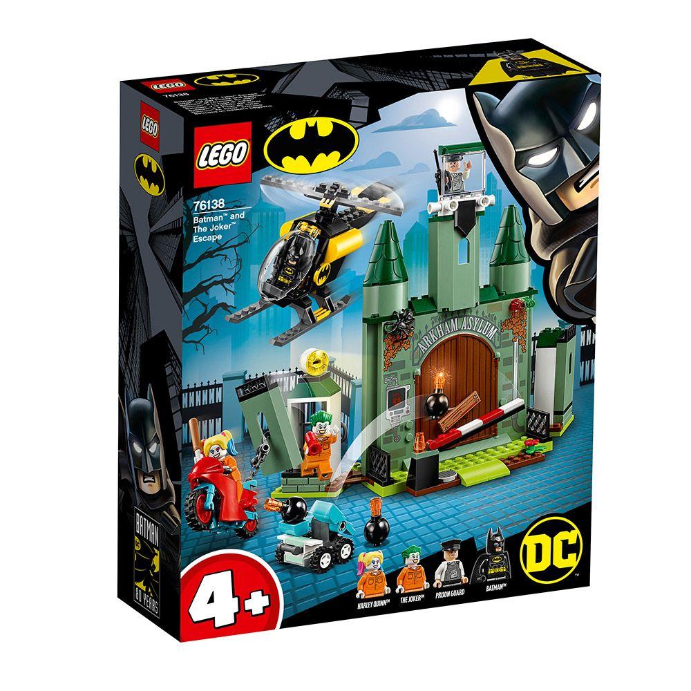 Lego Super Heroes Batman si evadarea lui Joker 76138 imagine hippoland.ro