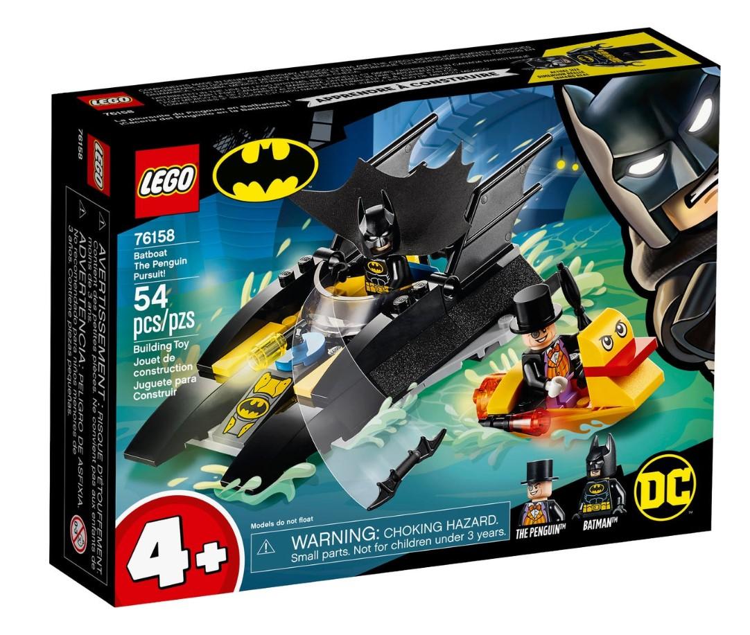 Lego Super Heroes Urmarirea Pinguinului 76158 imagine hippoland.ro