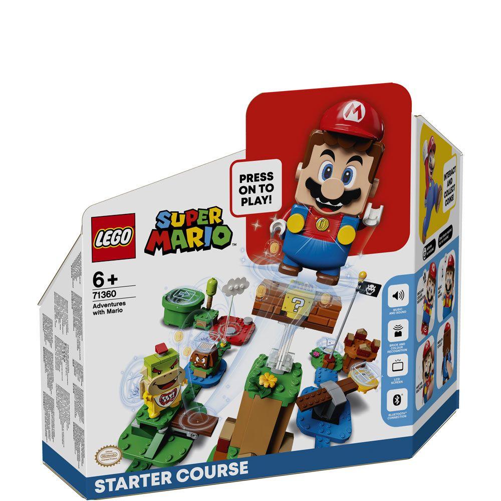 Lego Super Mario Aventurile lui Mario set de baza 71360 imagine hippoland.ro