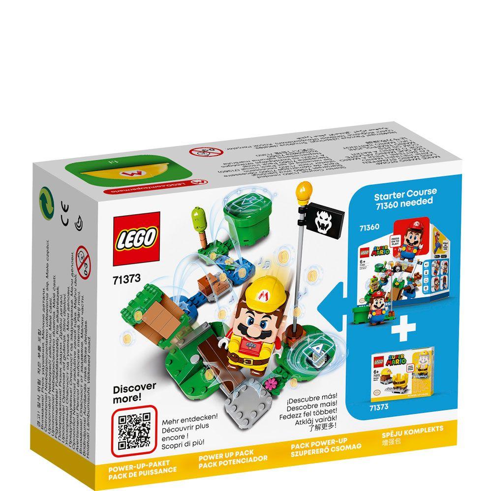 Lego Super Mario Costum de puteri Constructor 71373 imagine hippoland.ro