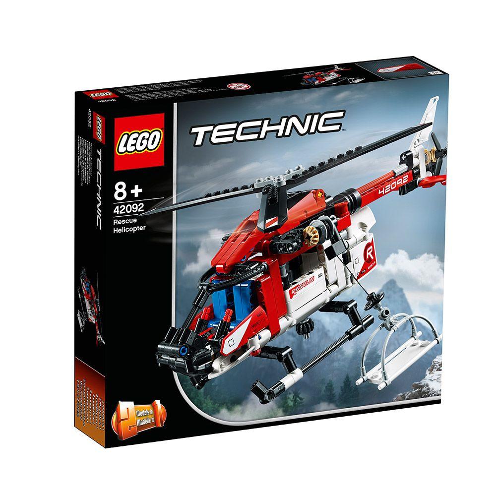 LEGO TECHNIC Elicopter de salvare 42092 imagine hippoland.ro