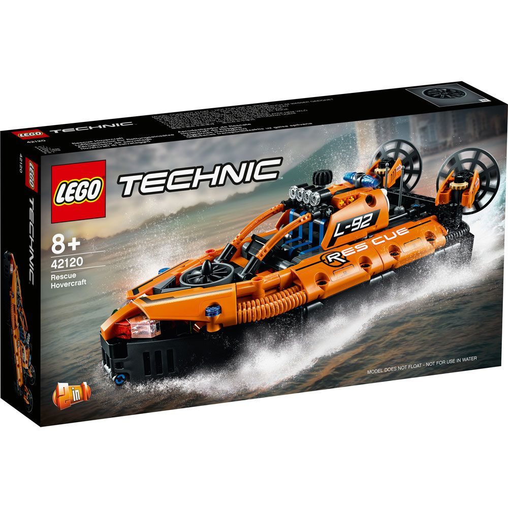 Lego Technic Hovercraft de salvare 42120 imagine hippoland.ro