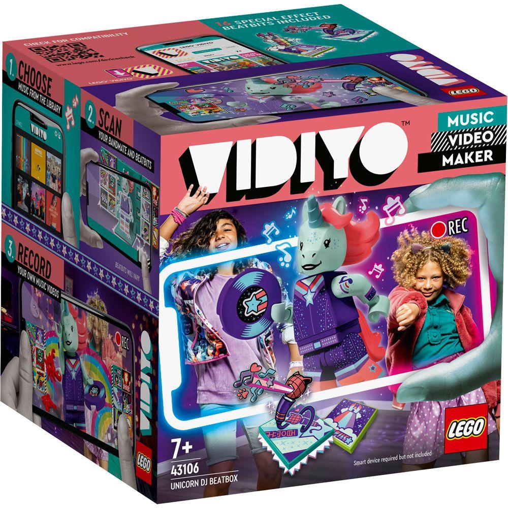 Lego Vidiyo BeatBox DJ Unicorn 43106