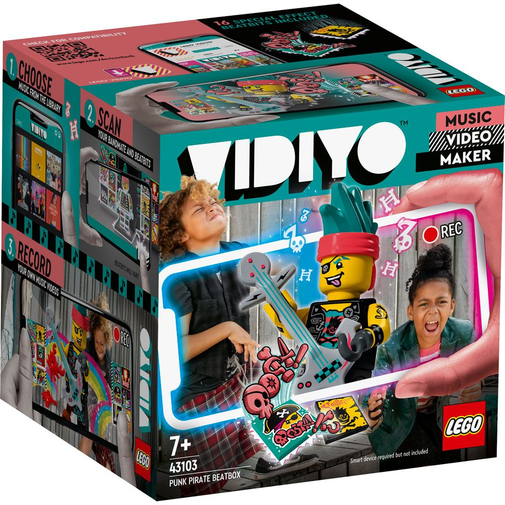 Lego Vidiyo BeatBox Pirat Punk 43103