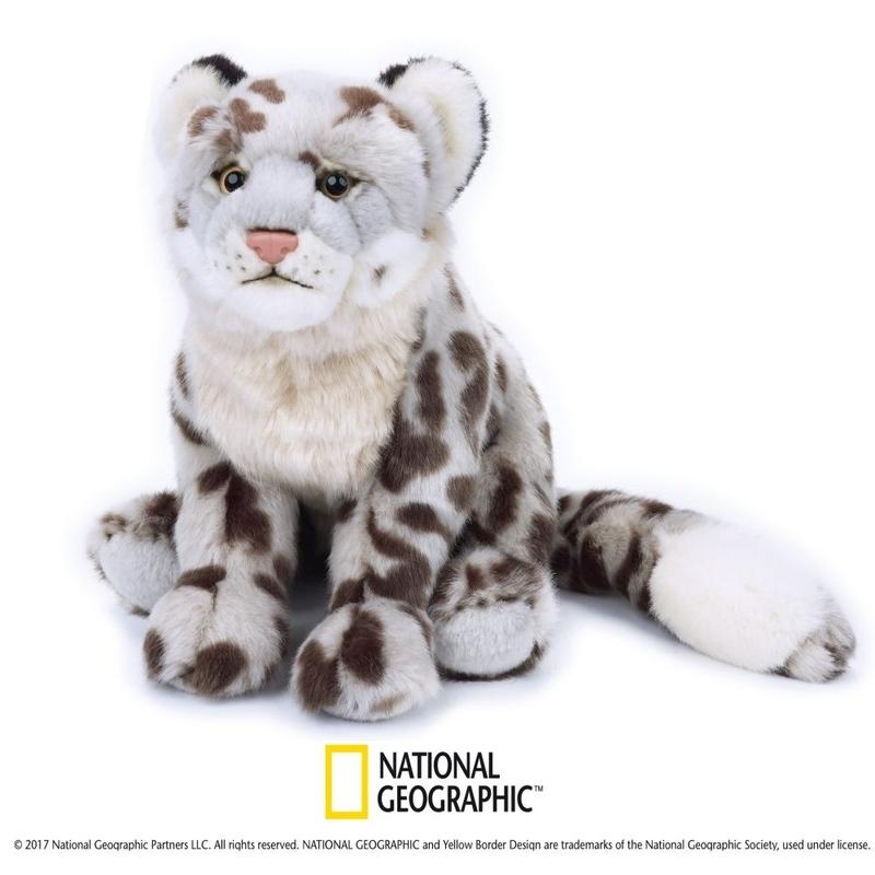 Leopard de zapada de plus National Geografic 24 cm imagine hippoland.ro